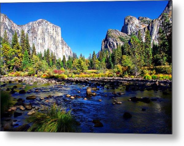 Valley View Yosemite National Park Metal Print