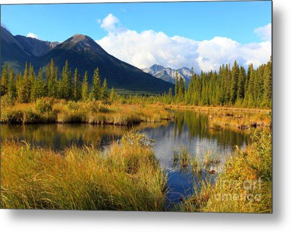 Vermillion Lakes Banff Alberta Metal Print