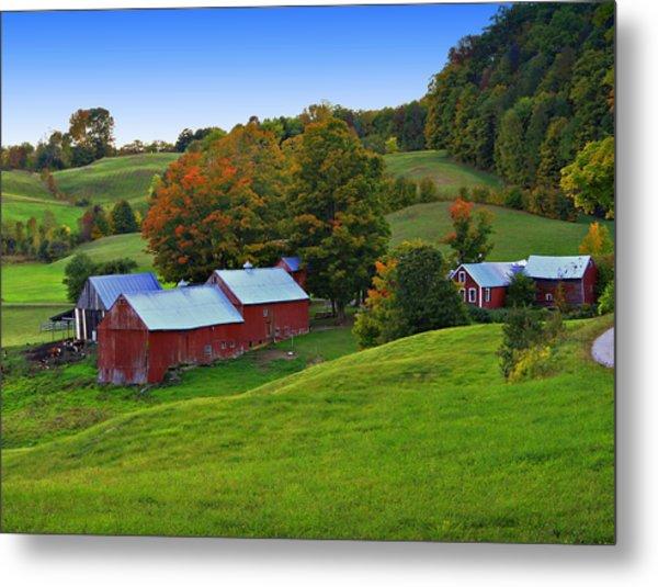 Vermont's Jenne Farm Metal Print