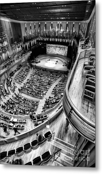 View From The Upper Balcony At Strathmore Music Center Metal Print