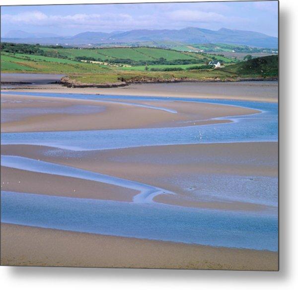 View Of The Tidal Estuary Of Bracky River Metal Print