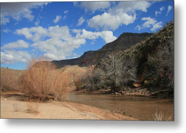 Virgin River Arizona Metal Print