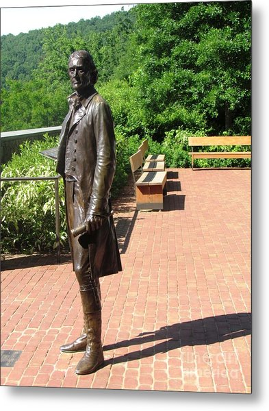 Virgina Monticello Jefferson Metal Print