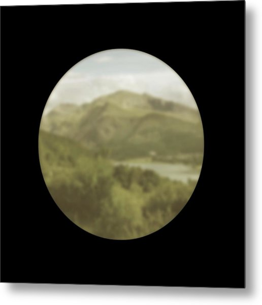Vision With Cataracts Metal Print