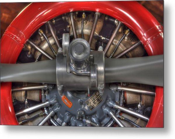 Vultee Bt-13 Valiant Propeller Metal Print