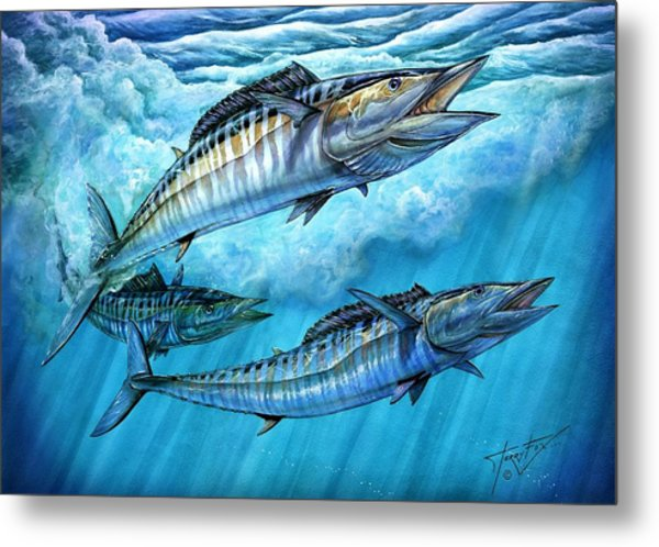 Wahoo In Freedom Metal Print