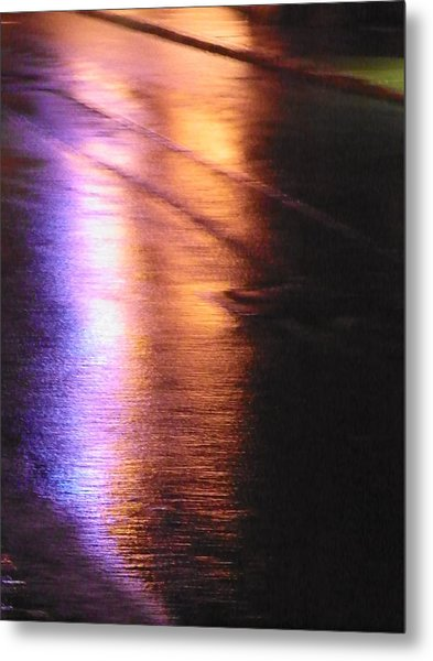 Water Colours 12 Metal Print by Bernie Smolnik