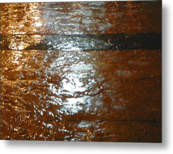 Water Colours 23 Metal Print by Bernie Smolnik