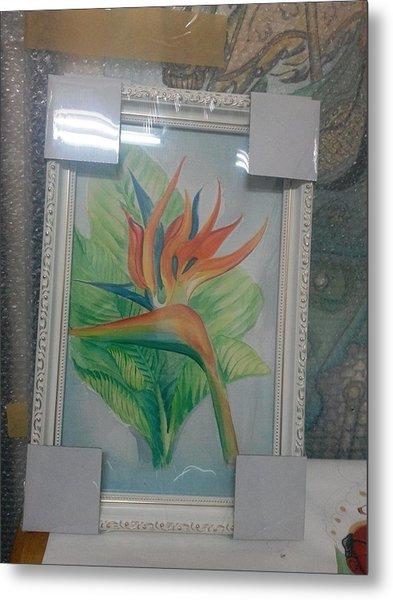 Watercolor Metal Print
