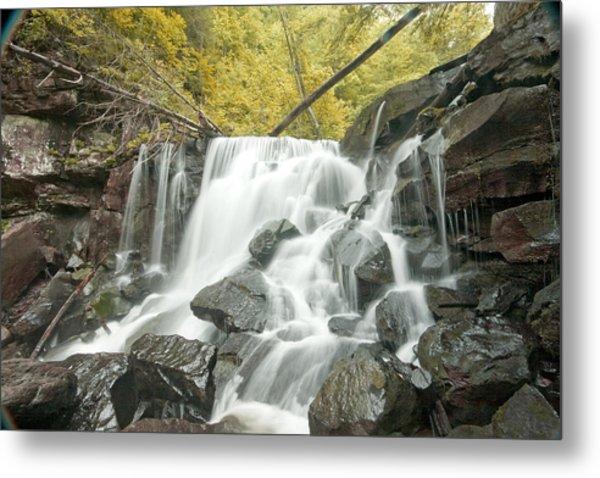 West Virginia Waterfall Metal Print