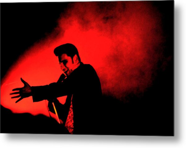 William Control Metal Print by Gino Inocentes