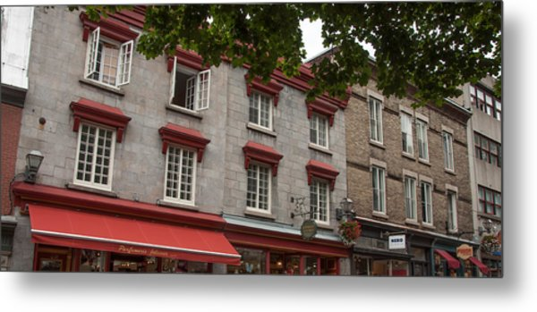 Windows Of Quebec City  Metal Print
