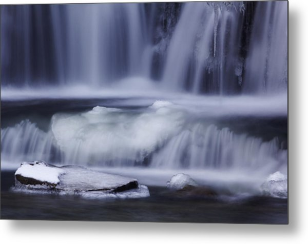 Winter Fall Metal Print