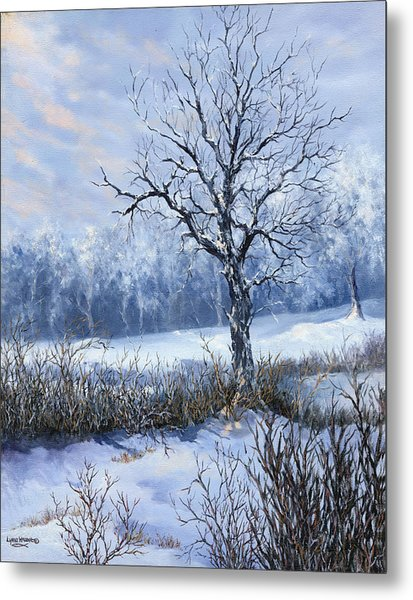 Winter Slumber Metal Print