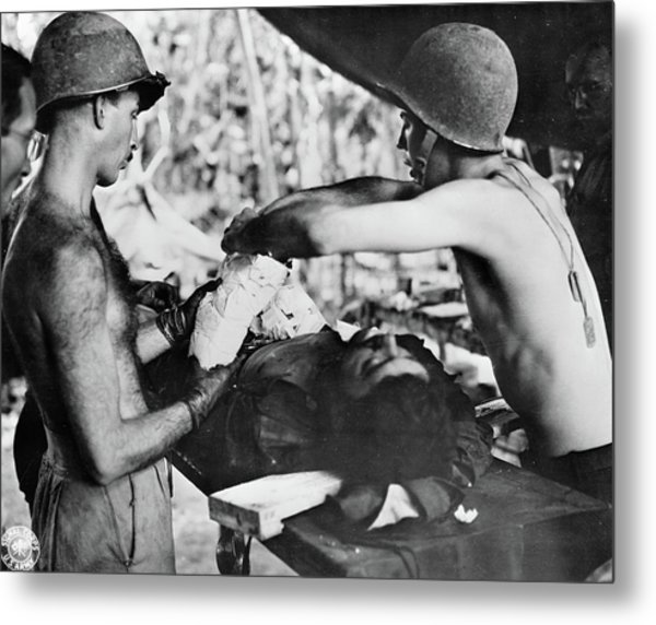 Wwii New Guinea, C1943 Metal Print by Granger