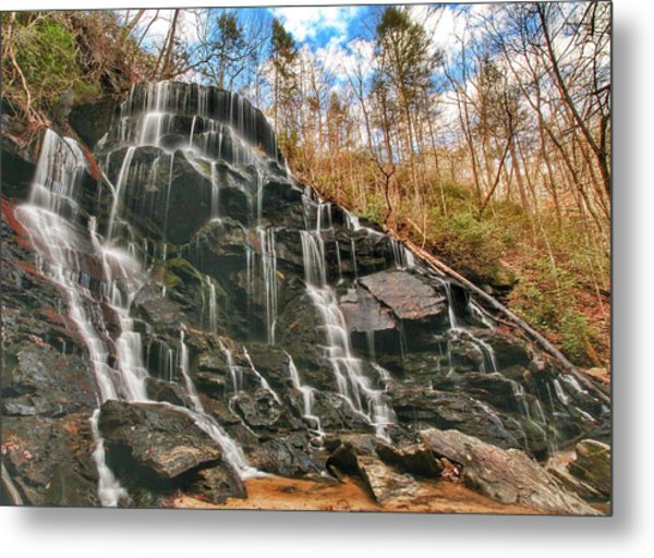 Yellow Branch Falls Metal Print