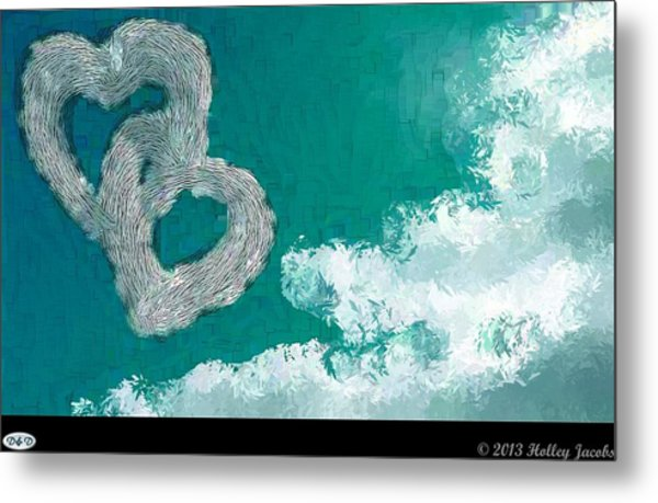 Your Body Teal Metal Print by Holley Jacobs