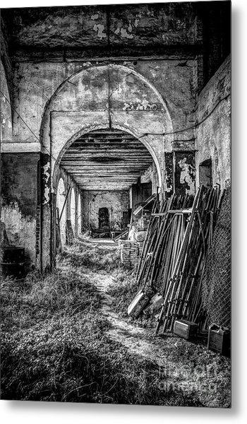 Abandoned Villa Metal Print