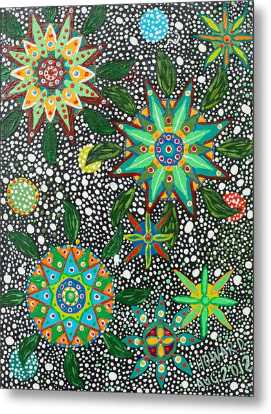 Ayahuasca Vision Metal Print