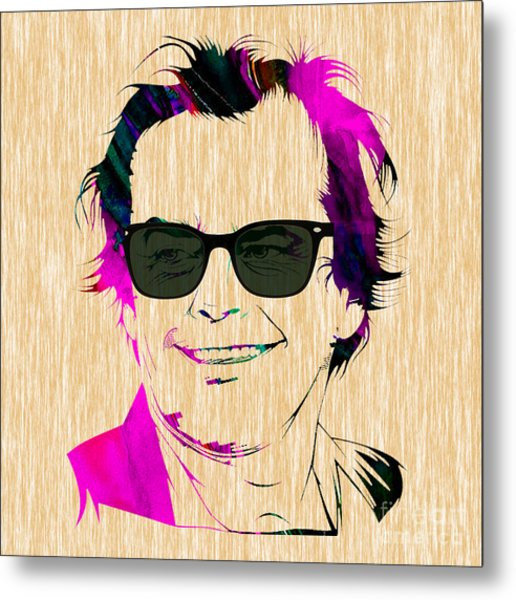 Jack Nicholson Collection Metal Print