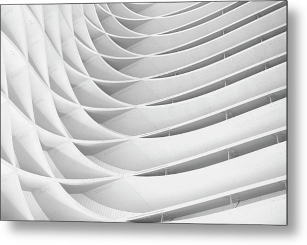 Study Of Patterns And Lines Metal Print by Roland Shainidze Photogaphy