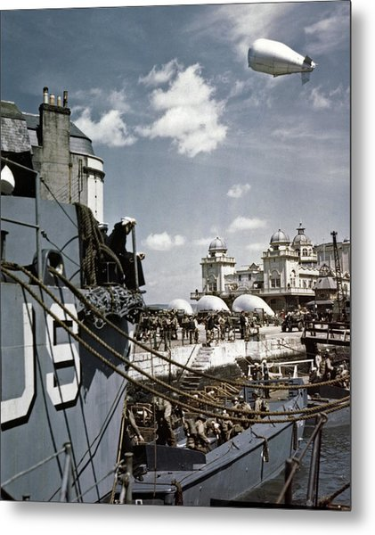 Wwii D-day, 1944 Metal Print by Granger