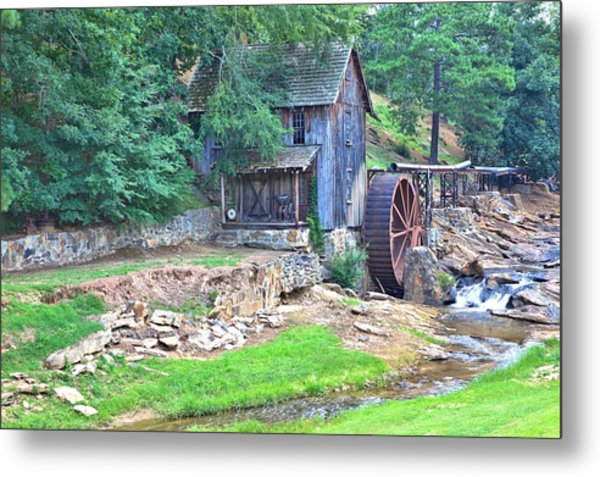 Sixes Mill On Dukes Creek Metal Print