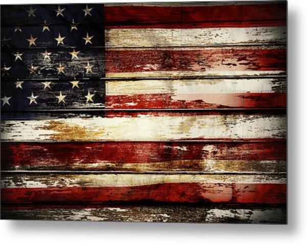 American Flag 33 Metal Print