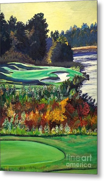 11 At Legacy Links Metal Print by Frank Giordano