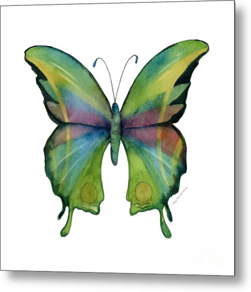 11 Prism Butterfly Metal Print