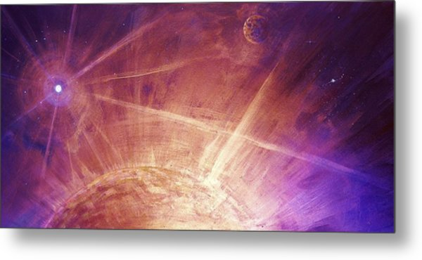 Cosmic Light Series Metal Print
