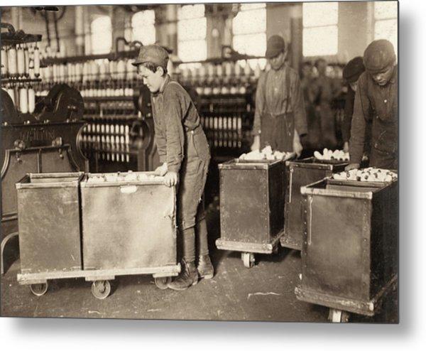 Hine Child Labor, 1908 Metal Print