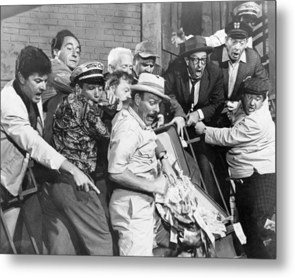 It's A Mad Mad Mad Mad World  Metal Print by Silver Screen