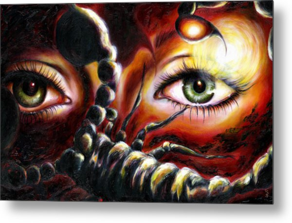 12 Signs Series Scorpio Metal Print