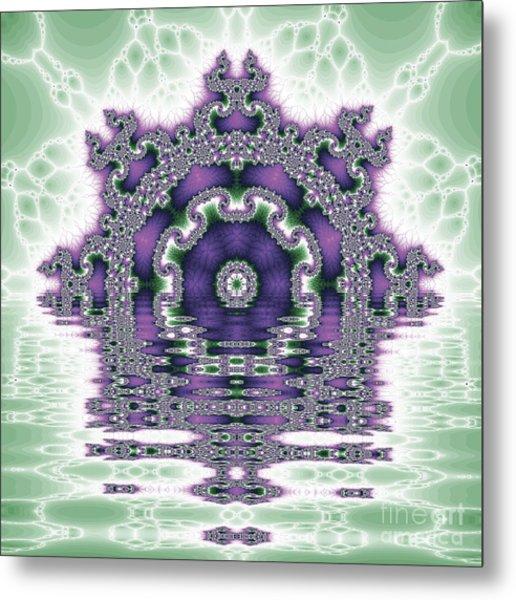 The Kaleidoscope Reflections Metal Print by Odon Czintos