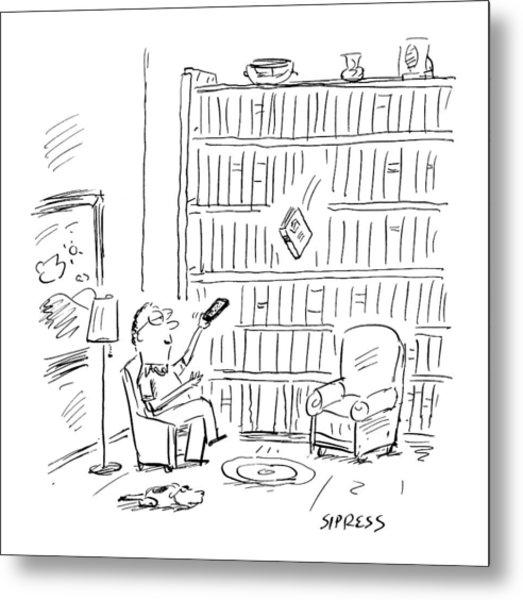 New Yorker July 3rd, 2000 Metal Print
