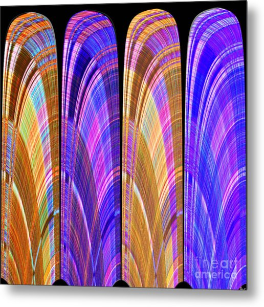1260 Abstract Thought Metal Print
