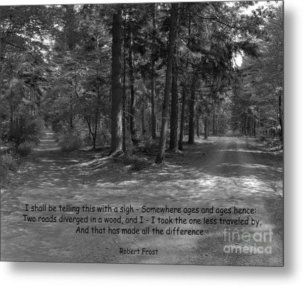 12a- Robert Frost  Metal Print