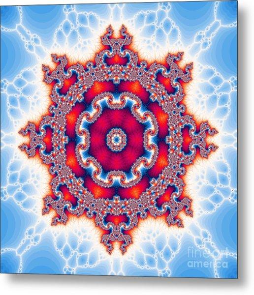 The Kaleidoscope Metal Print by Odon Czintos