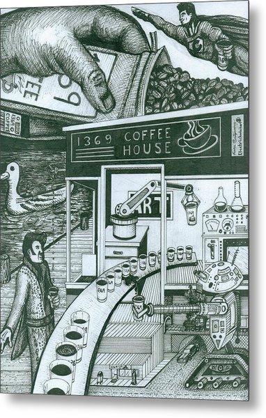 1369 Coffee House Metal Print