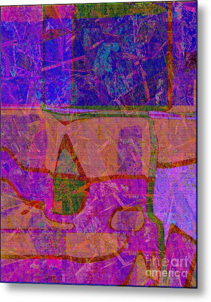1381 Abstract Thought Metal Print