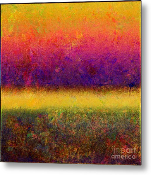 1395 Abstract Thought Metal Print