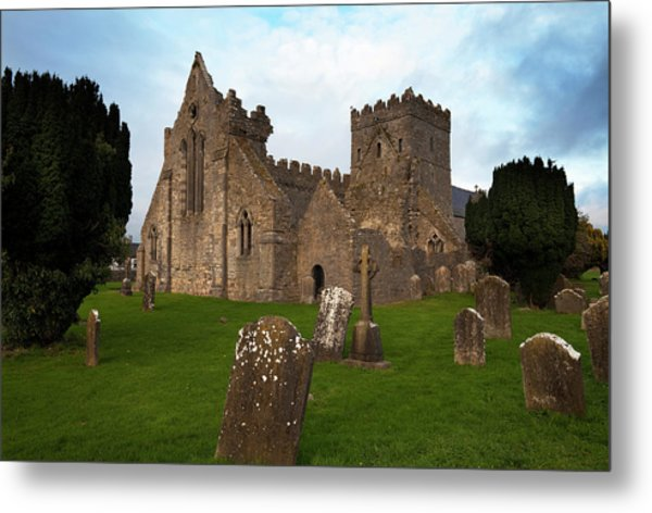 13th Century Collegiate Church Of St Metal Print