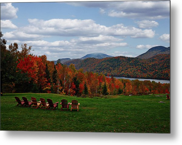 13th Lake View Garnet Hill Lodge Metal Print