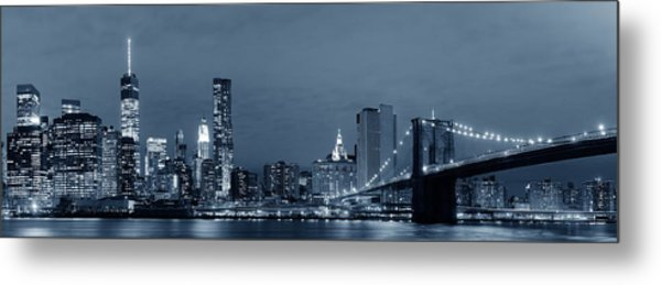 Manhattan Downtown Metal Print