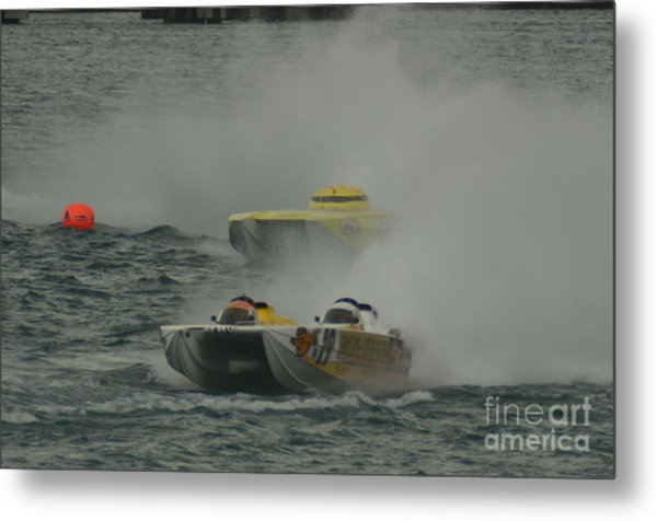Port Huron Sarnia International Offshore Powerboat Race Metal Print