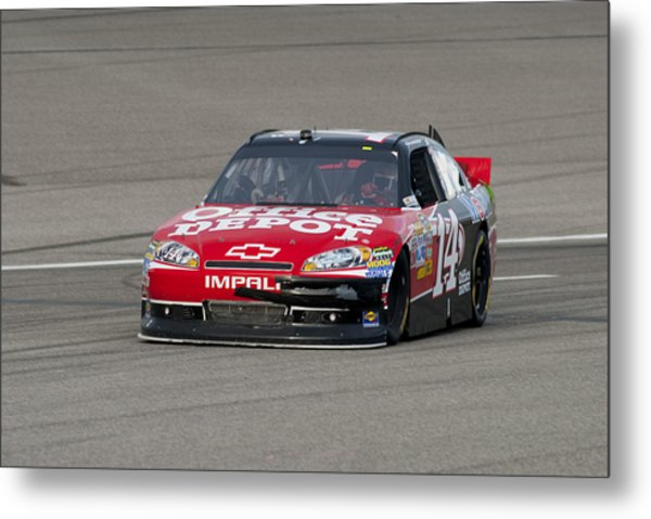 14 Tony Stewart Car Metal Print