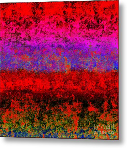 1423 Abstract Thought Metal Print