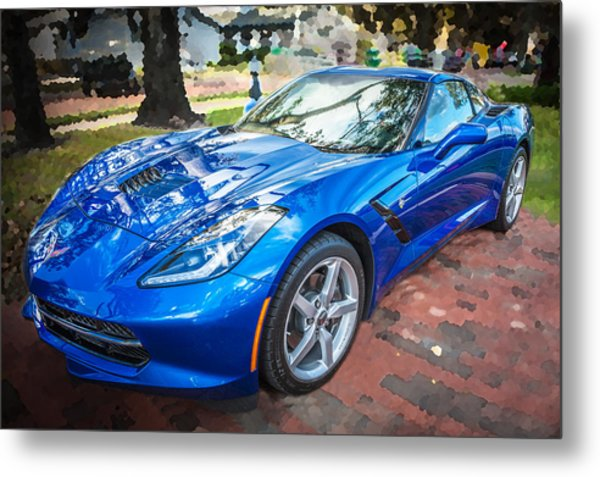2014 Chevrolet Corvette C7 Metal Print