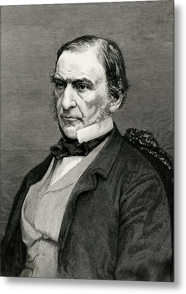 William Ewart Gladstone  British Metal Print by Mary Evans Picture Library